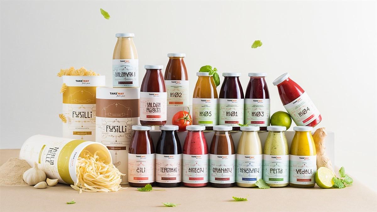 TakeWay健康食品包装 欣赏-第1张
