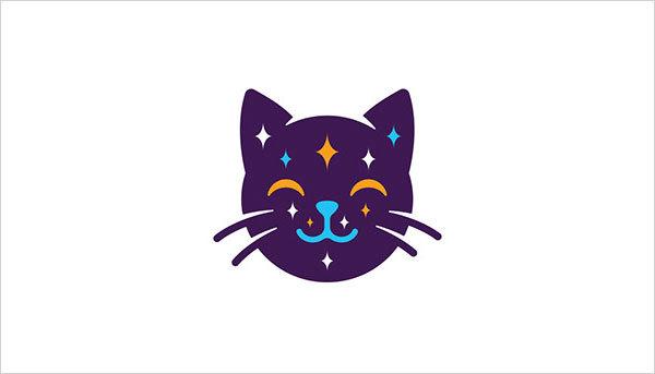 猫咪为元素的Logo设计 欣赏-第14张