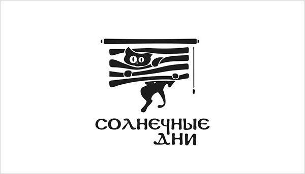 猫咪为元素的Logo设计 欣赏-第8张