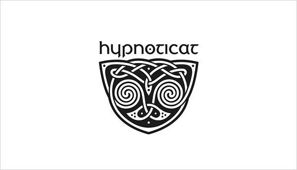 猫咪为元素的Logo设计 欣赏-第11张