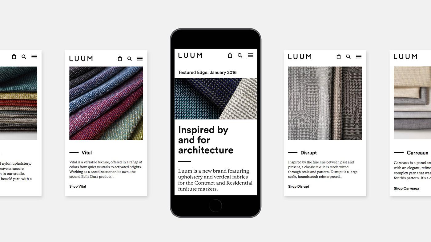Luum纺织店品牌形象视觉设计 欣赏-第21张