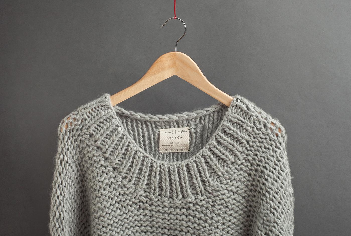 Sien+Co手工针织服饰品牌 欣赏-第21张