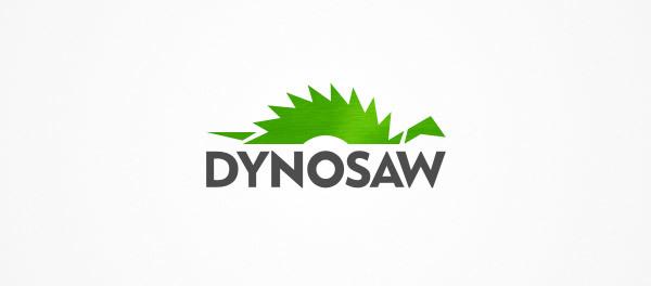 30个恐龙元素创意logo设计 欣赏-第4张