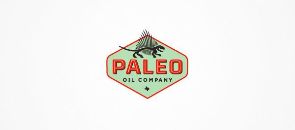 30个恐龙元素创意logo设计 欣赏-第13张
