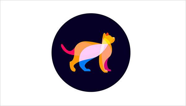 猫咪为元素的Logo设计 欣赏-第4张