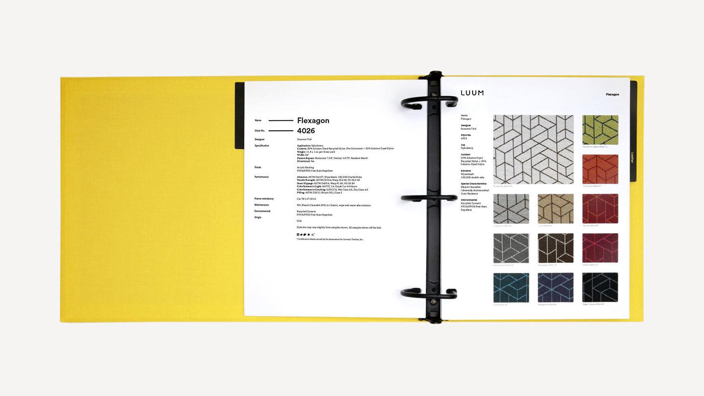 Luum纺织店品牌形象视觉设计 欣赏-第18张