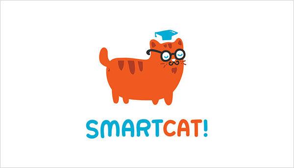 猫咪为元素的Logo设计 欣赏-第6张