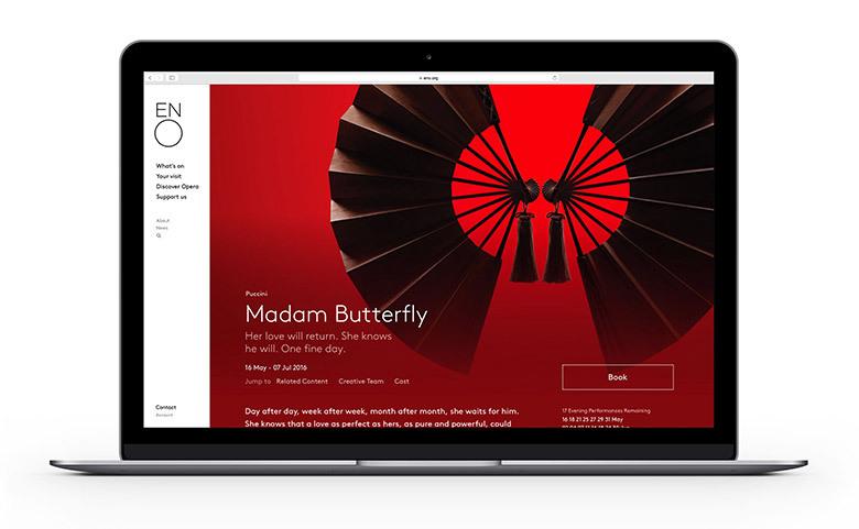 英国国家歌剧院重塑品牌形象设计 欣赏-第4张