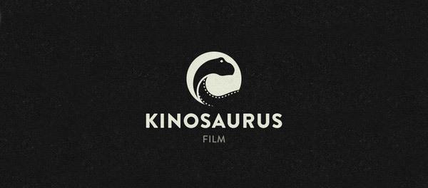30个恐龙元素创意logo设计 欣赏-第8张