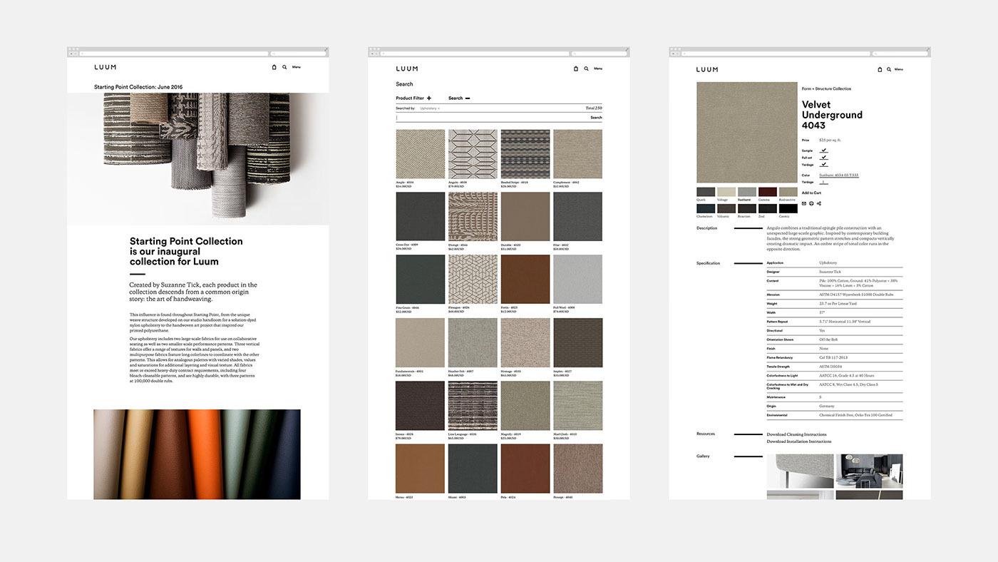 Luum纺织店品牌形象视觉设计 欣赏-第22张