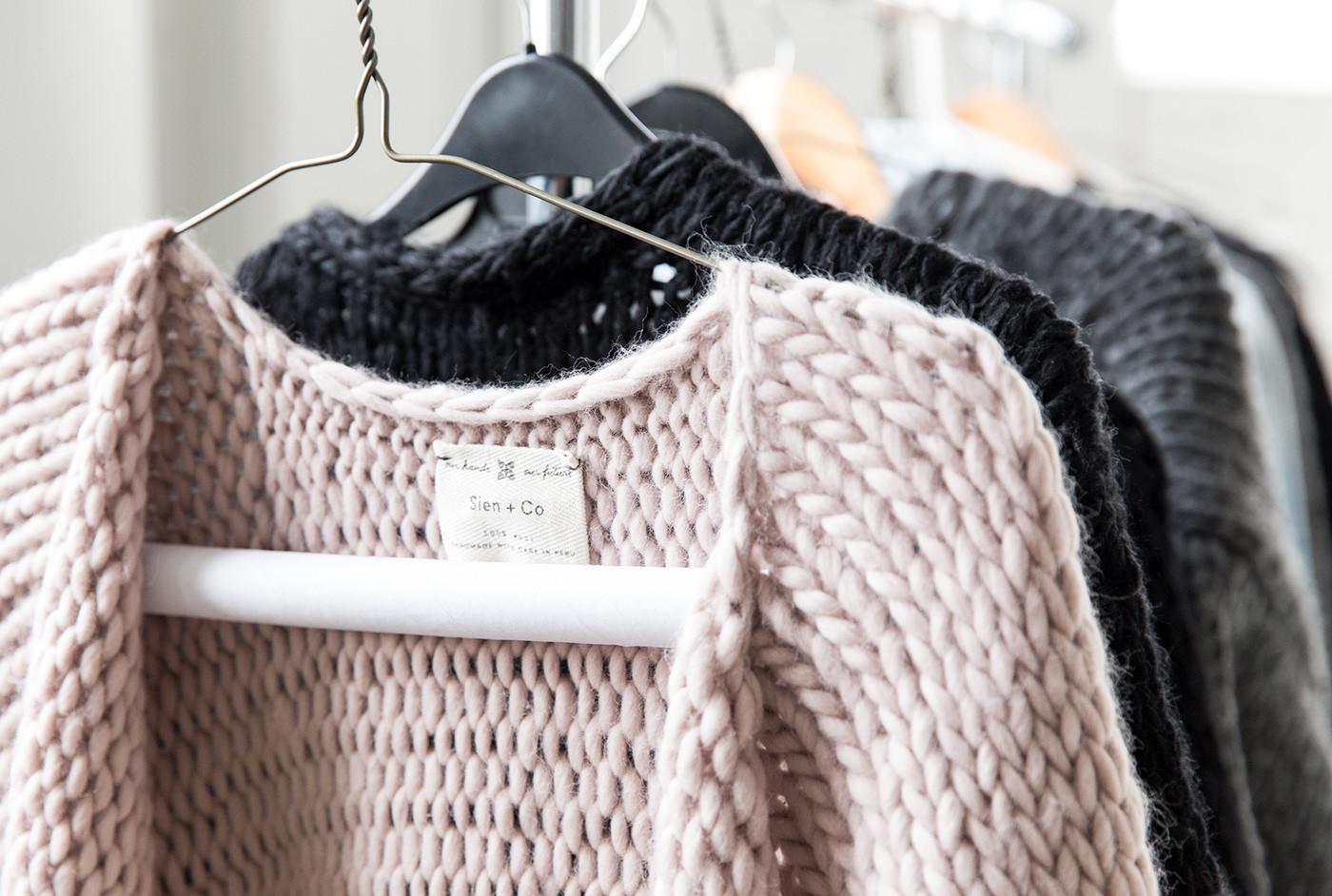 Sien+Co手工针织服饰品牌 欣赏-第13张
