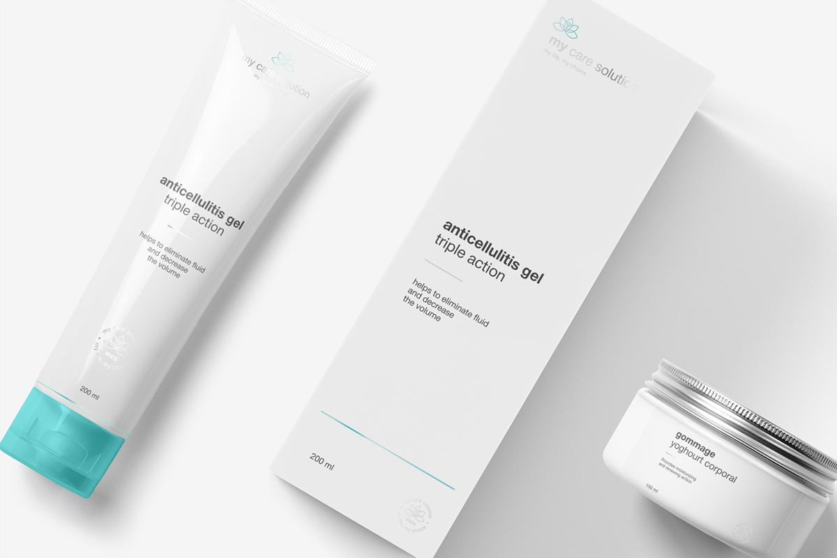 my care solution护理液品牌包装设计 欣赏-第7张