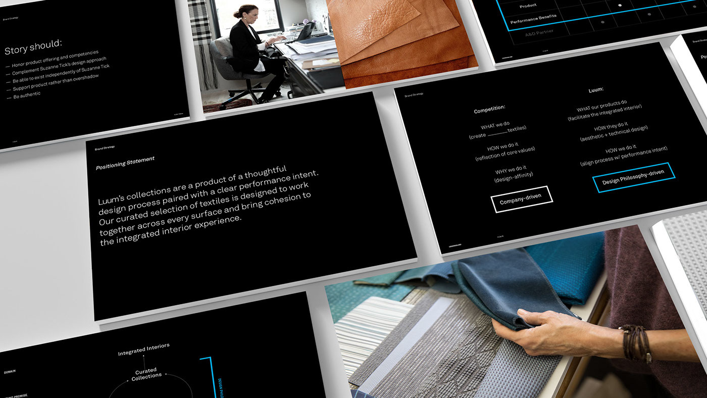 Luum纺织店品牌形象视觉设计 欣赏-第3张