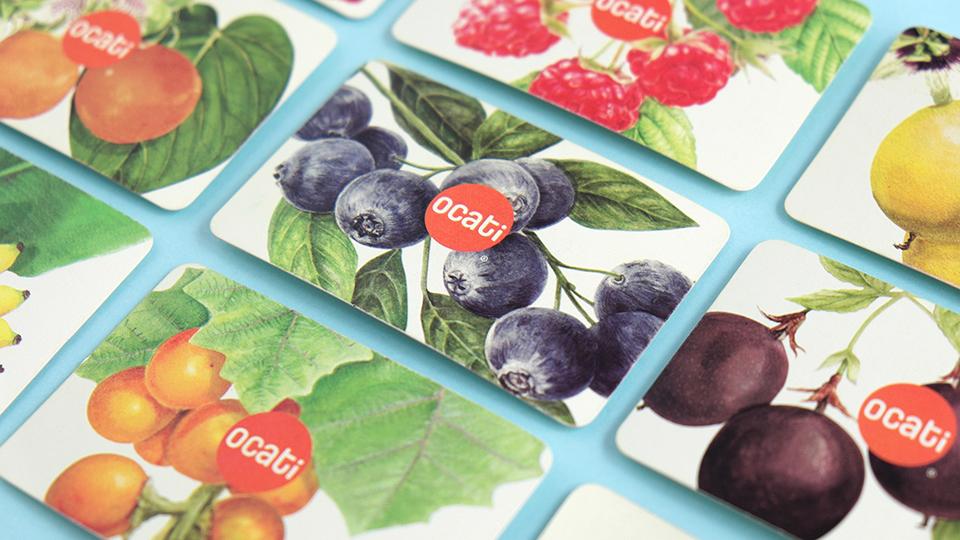 Ocati水果包装设计 欣赏-第3张