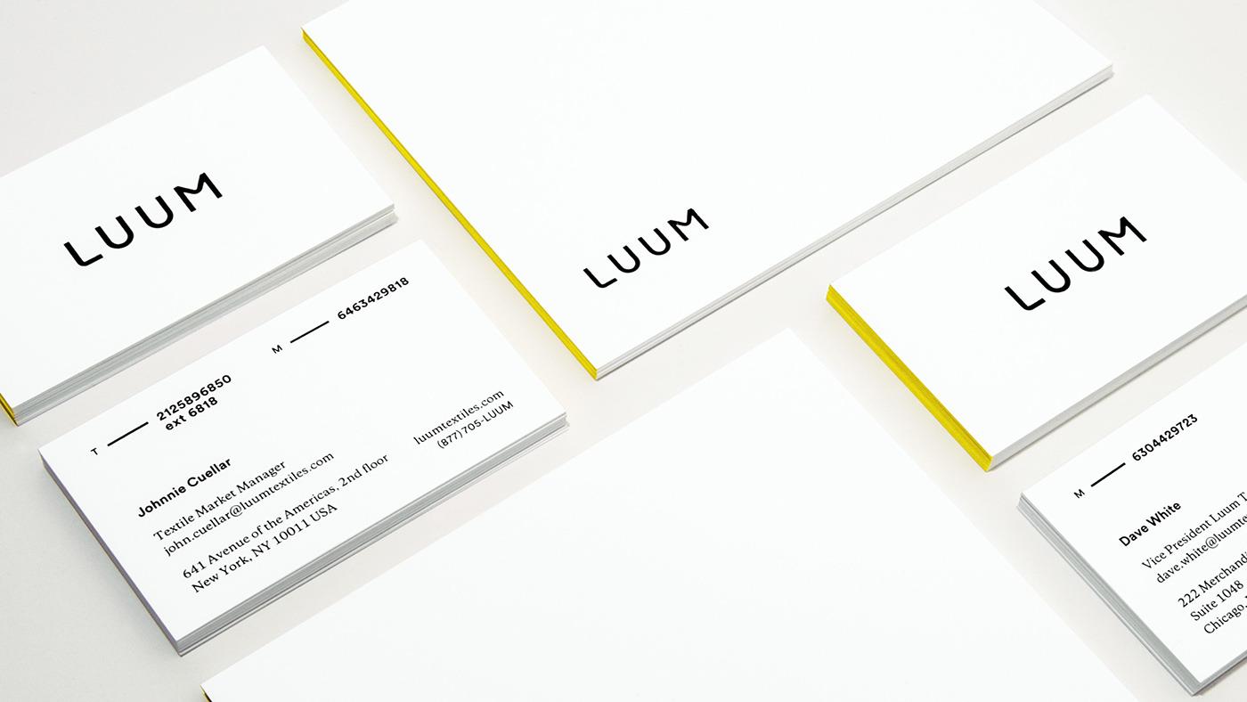 Luum纺织店品牌形象视觉设计 欣赏-第6张
