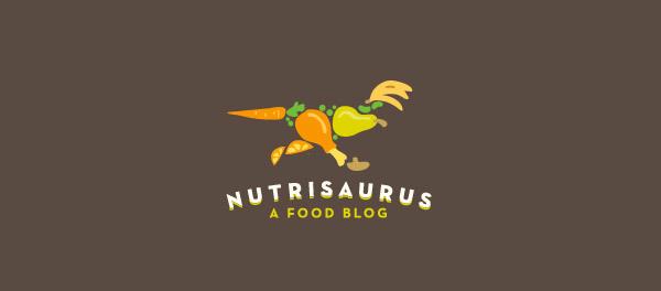 30个恐龙元素创意logo设计 欣赏-第2张