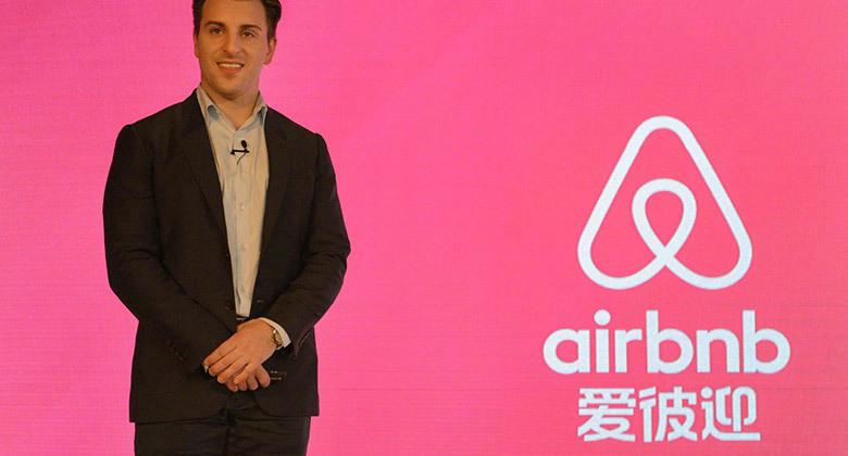 """为迎合中国市场Airbnb起了个中文名字叫""""爱彼迎"""