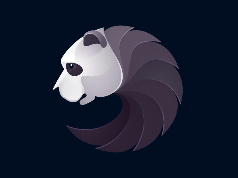 熊猫元素logo 欣赏-第9张