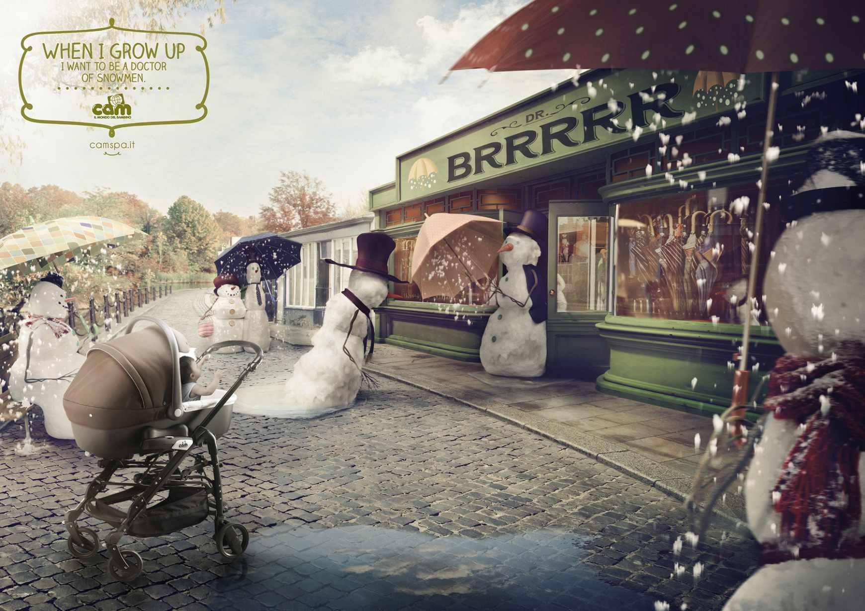 Cam婴儿用品广告创意海报 欣赏-第12张