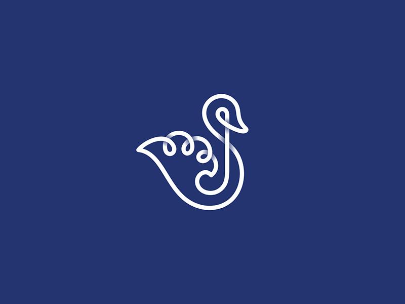 天鹅元素logo 欣赏-第19张