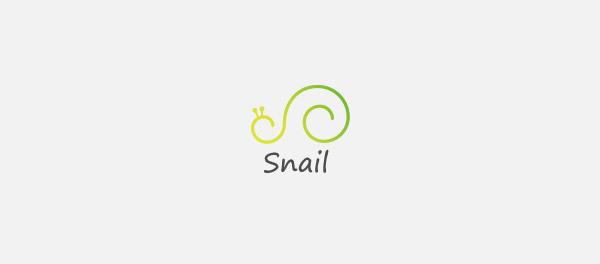 蜗牛元素logo 欣赏-第9张