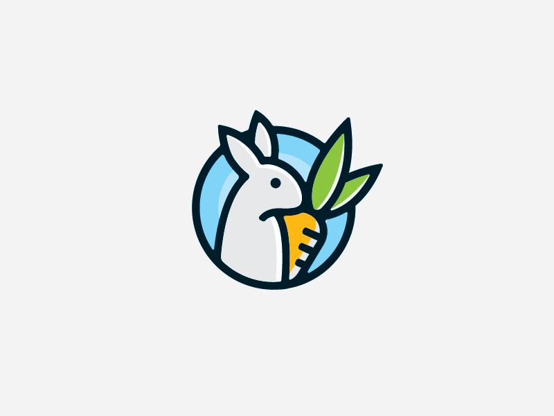兔子元素logo 欣赏-第41张