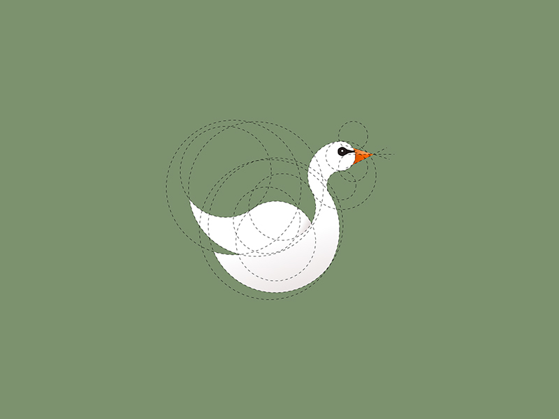 天鹅元素logo 欣赏-第30张