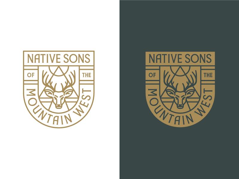 鹿元素logo 欣赏-第30张