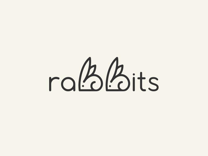 兔子元素logo 欣赏-第23张