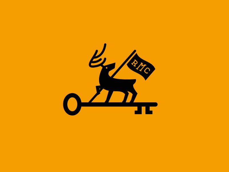 鹿元素logo 欣赏-第23张