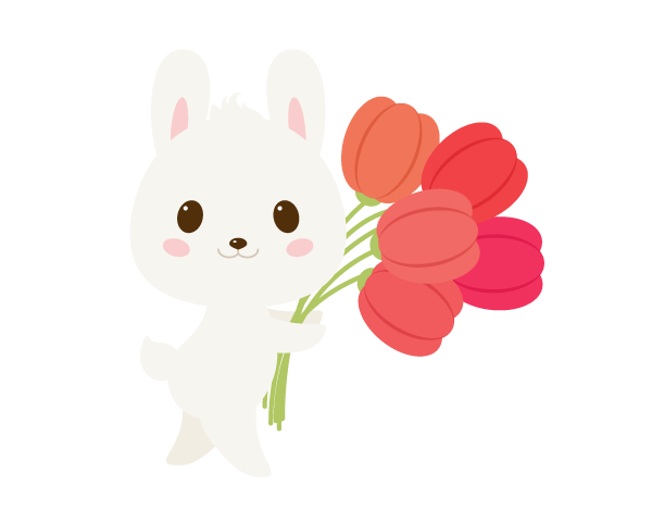 手把手教你用Ai绘制拿着郁金香的可爱兔子 教程-第24张