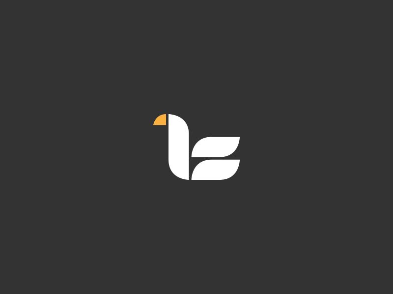 天鹅元素logo 欣赏-第21张