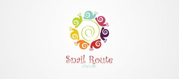 蜗牛元素logo 欣赏-第16张