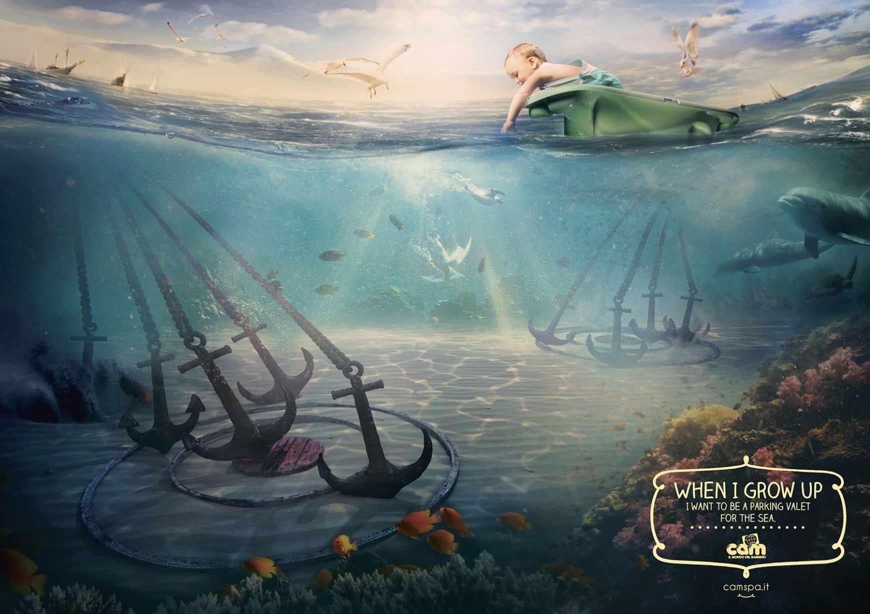 Cam婴儿用品广告创意海报 欣赏-第10张