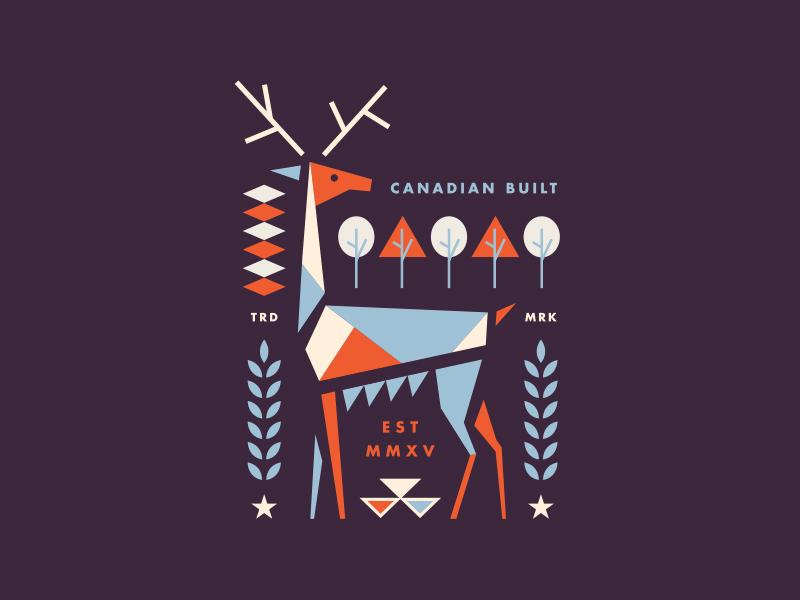 鹿元素logo 欣赏-第32张
