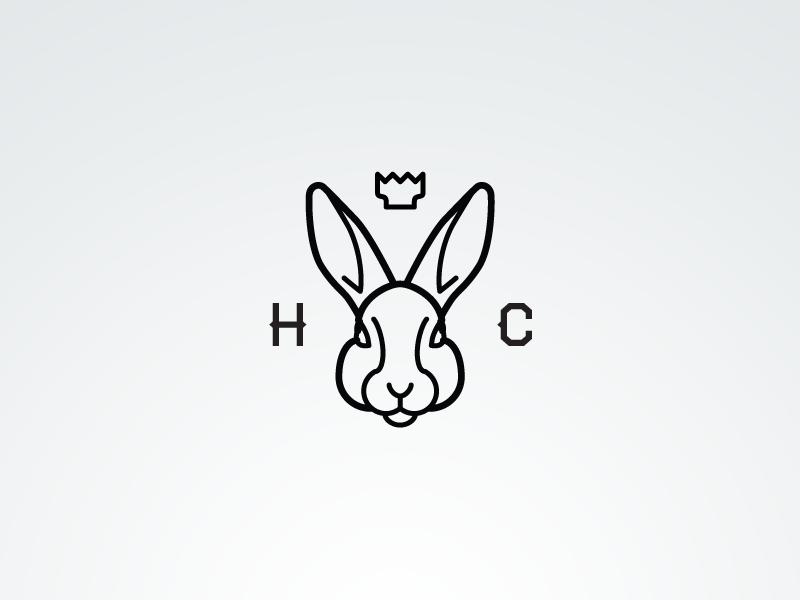 兔子元素logo 欣赏-第32张