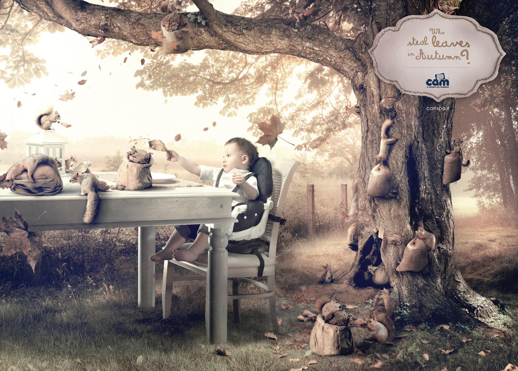 Cam婴儿用品广告创意海报 欣赏-第5张