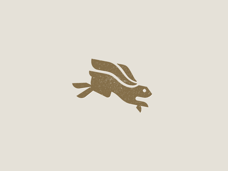兔子元素logo 欣赏-第11张