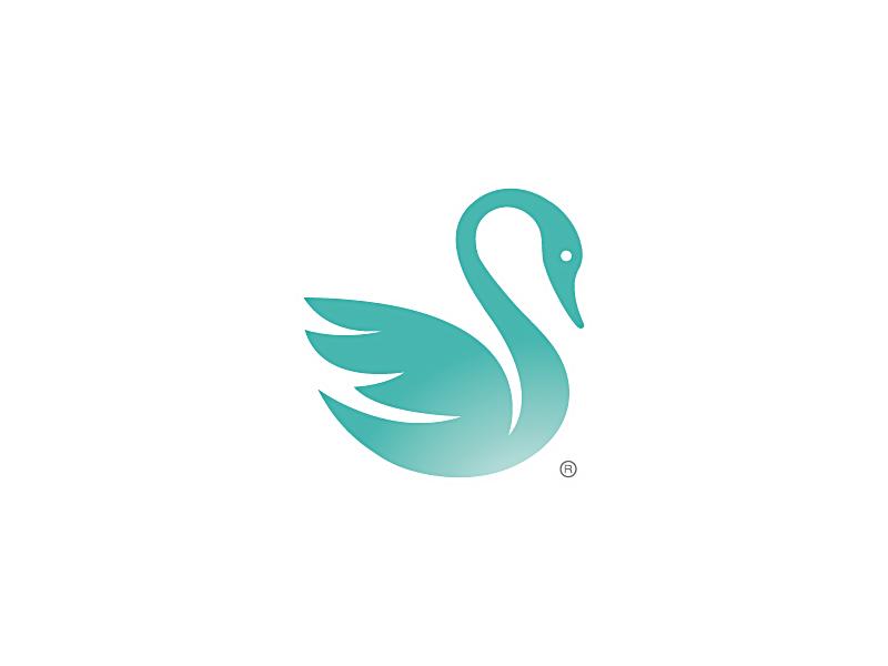 天鹅元素logo 欣赏-第11张