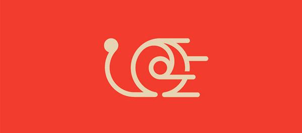 蜗牛元素logo 欣赏-第22张
