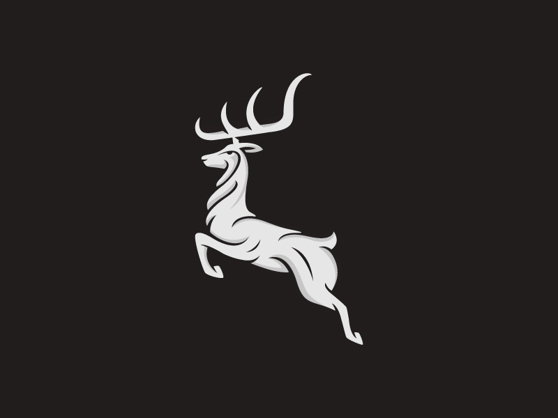 鹿元素logo 欣赏-第18张
