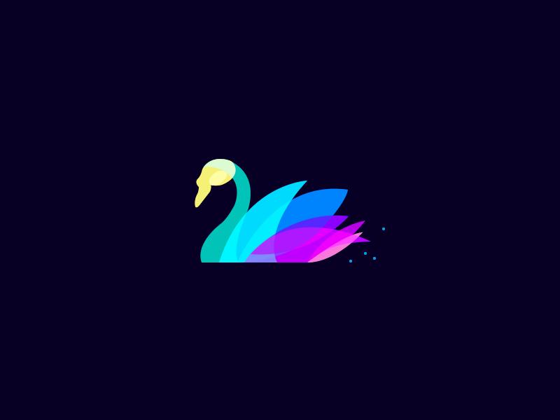 天鹅元素logo 欣赏-第18张