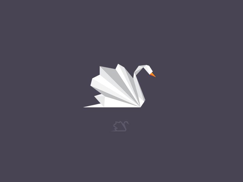 天鹅元素logo 欣赏-第17张