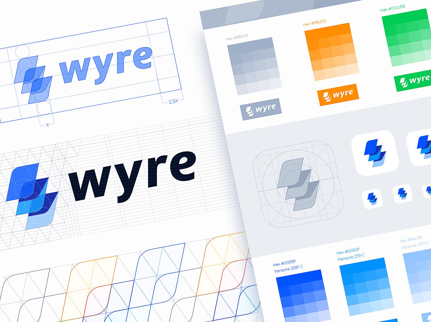 Wyre支付系统品牌设计 欣赏-第17张