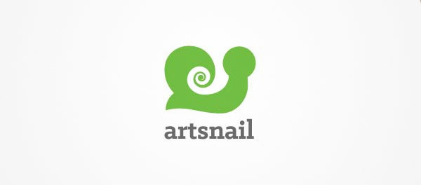 蜗牛元素logo 欣赏-第7张