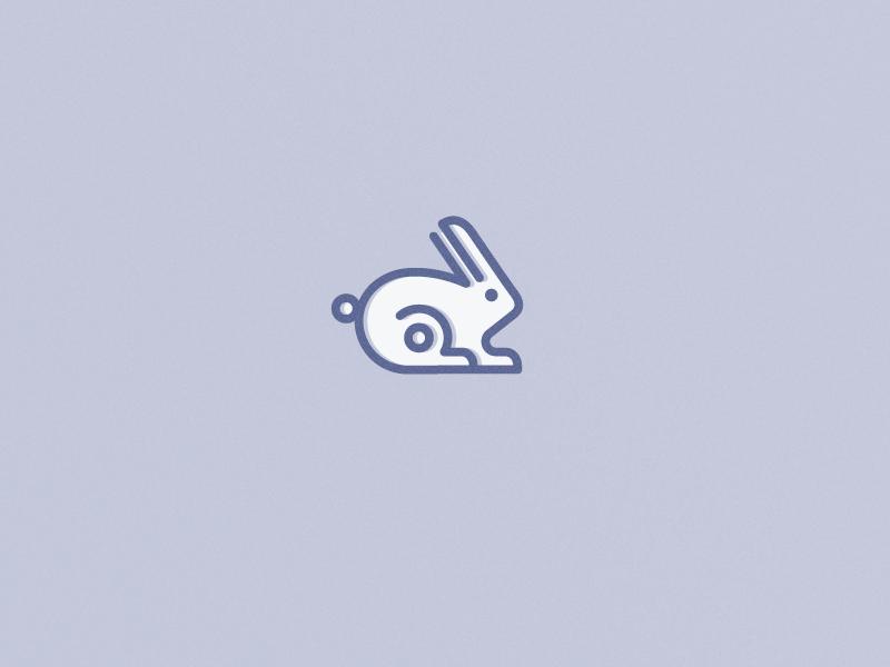 兔子元素logo 欣赏-第25张