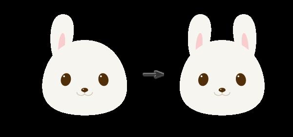手把手教你用Ai绘制拿着郁金香的可爱兔子 教程-第9张