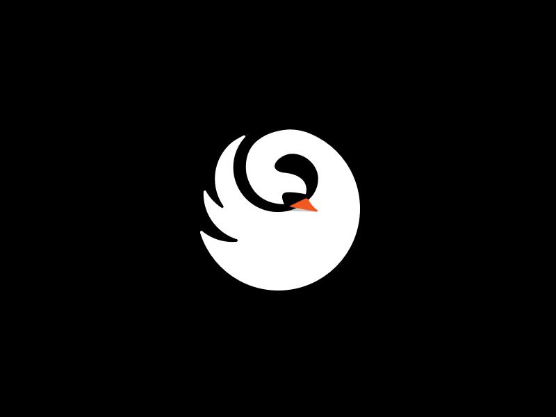天鹅元素logo 欣赏-第20张