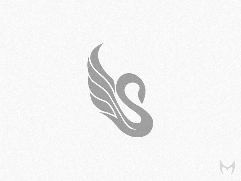 天鹅元素logo 欣赏-第15张