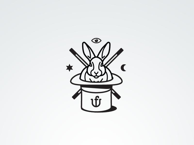 兔子元素logo 欣赏-第42张